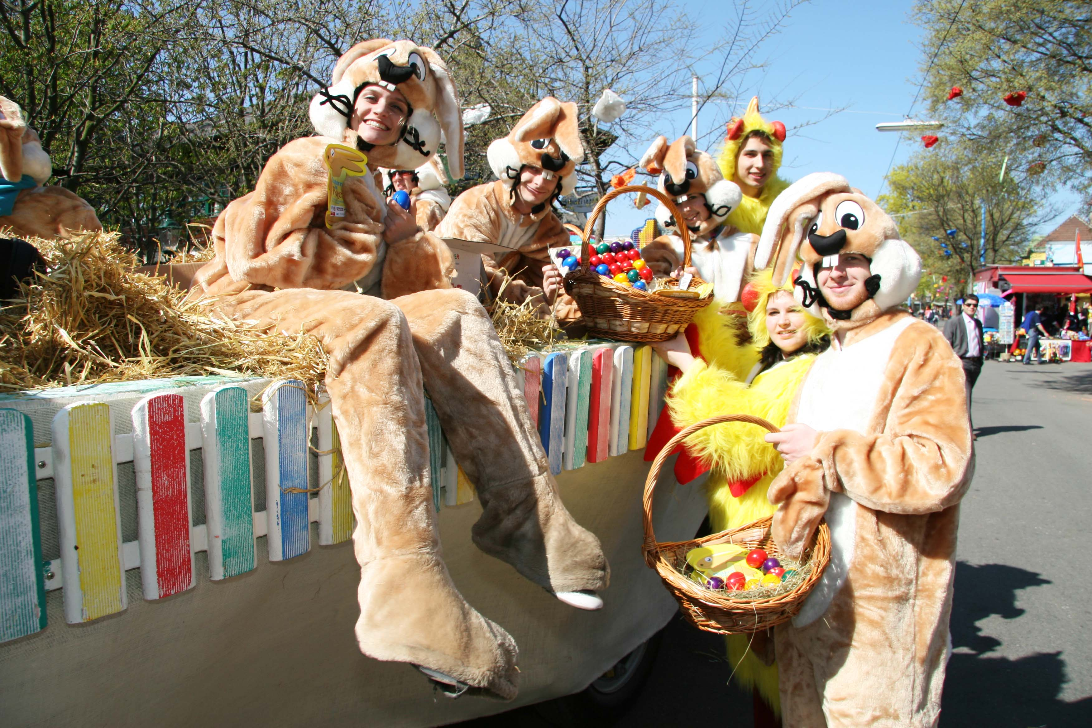 Easter, Prater, Easter bunnies, Vienna, Hostel Vienna, Prater Easter, Easter festival Vienna